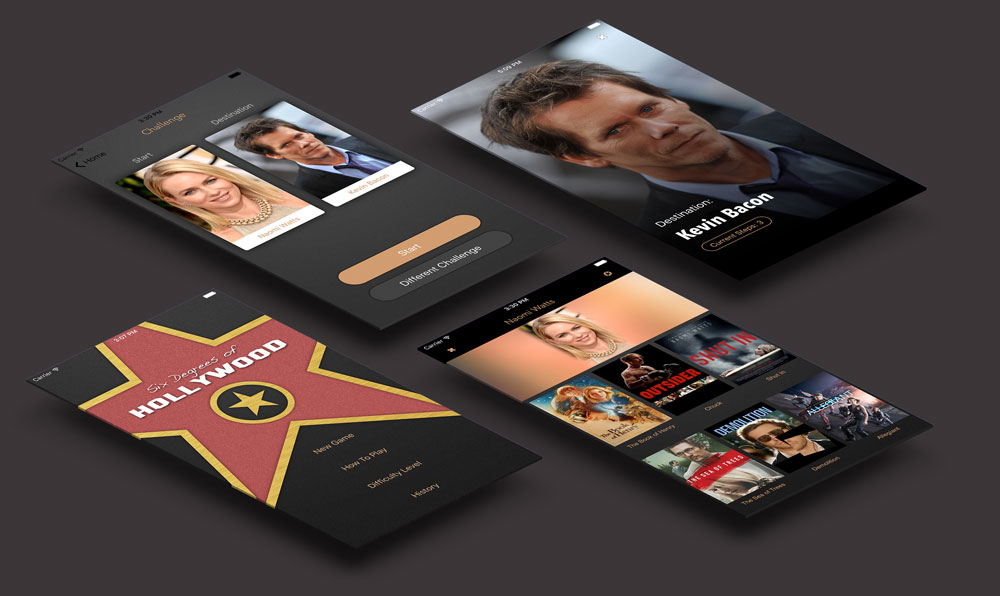 Six Degrees of Hollywood iPhone App